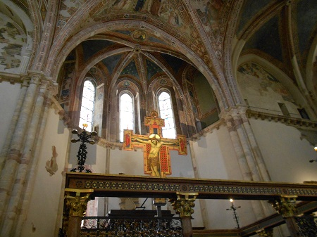 Croce a San Damiano ad Assisi