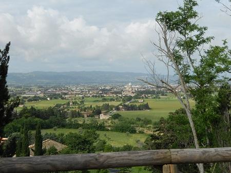 La frazione Santa Maria degli Angeli ad Assisi