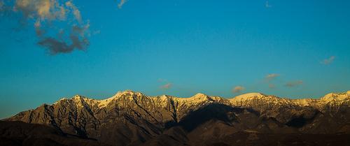 sul monte più alto delle Alpi Apuane
