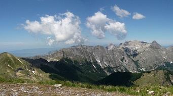 Itinerario Alpi Apuane