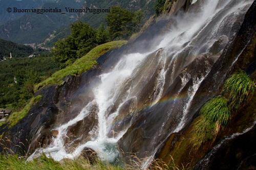 Marmitte dei Giganti - Particolare delle Cascate dell'Acqua Fraggia