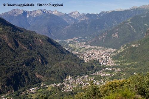 Marmitte dei Giganti - Paesaggio della Val Chiavenna