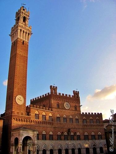 Siena - Torre del Mangia e Palazzo Pubblico
