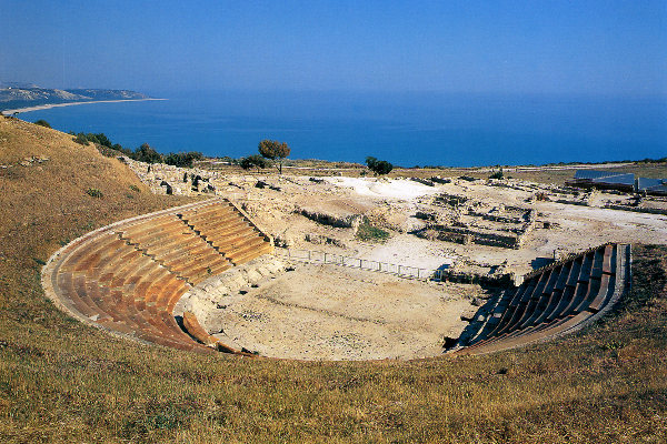Eraclea Minoa teatro greco romano
