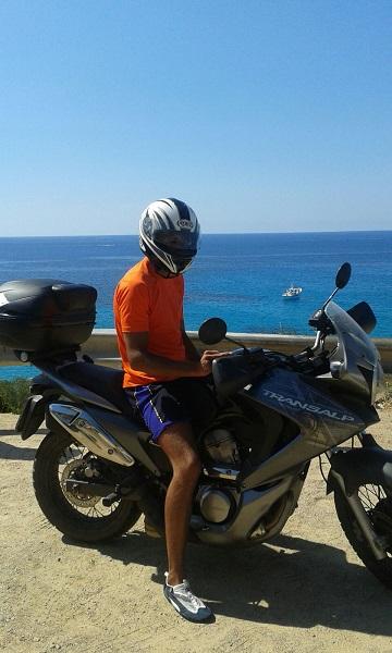 vacanze in moto in Sardegna