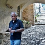 l'Ing. Rino Papone, autore del restauro conservativo di Torre Paponi