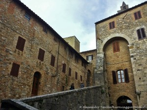 salita di San Gimignano