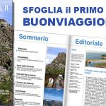 Il primo numero di Buonviaggioitalia.it