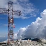 La croce di Punta Marguareis
