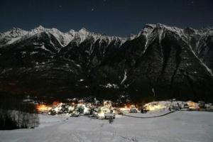 Presepi in Piemonte - Viceno notturna Crodo