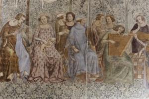 Dettaglio Trionfo della Morte dopo restauro