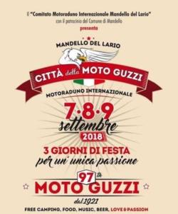 Motoraduno internazionale di moto Guzzi