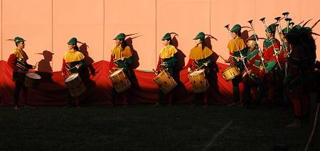 I tamburini del Corteo Matildico a Reggio Emilia