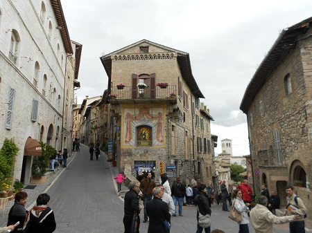 Assisi strade