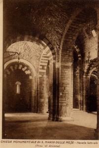 Moie nelle Marche particolari abbazia