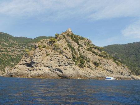 S. Fruttuoso in barca - Punta Torretta