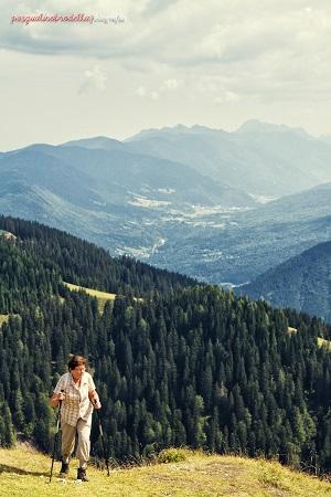 Monte Santo di Lussari panorama vette