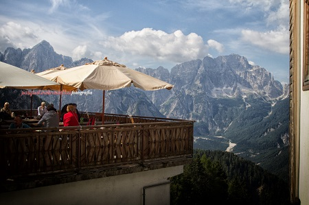 Monte Santo di Lussari in Friuli sulle Alpi