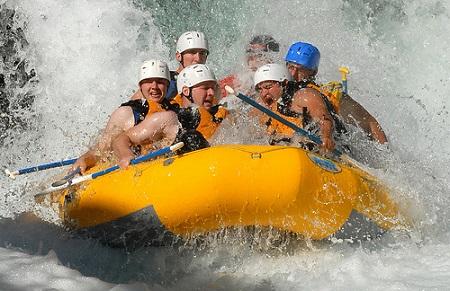 Rafting sulle Dolomiti friulane