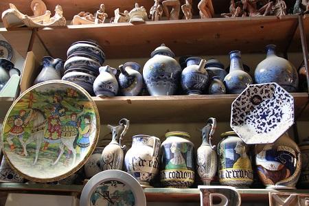 Faenza ceramiche botteghe