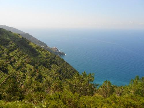 Cinque Terre panorama sul mare