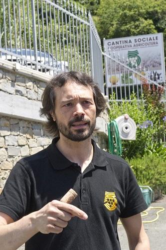 Gianfranco Vita enologo alle Cinque Terre