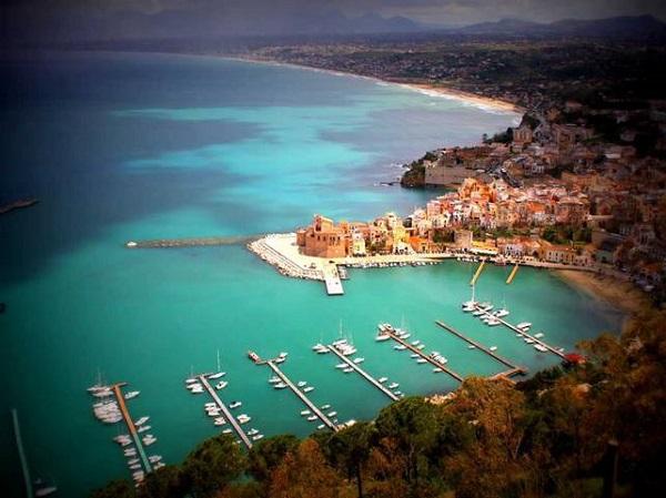 Golfo di Castellammare panoramica