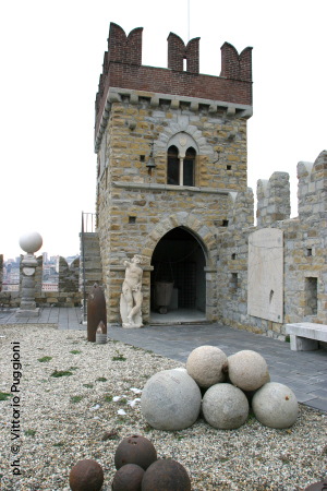 Torretta del Castello D'Albertis a Genova
