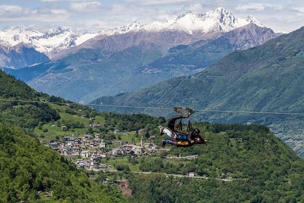 Fly Emotion in Valtellina