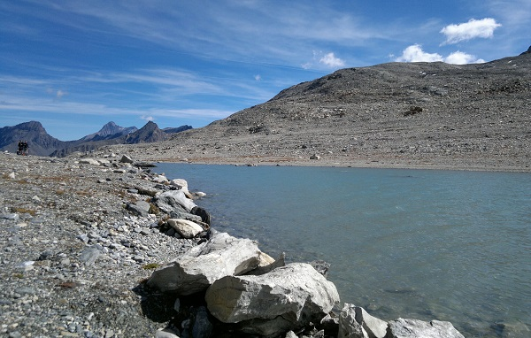 trekking al lago di Goletta