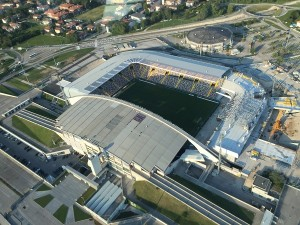 Città da vedere, stadio Friuli di Udine