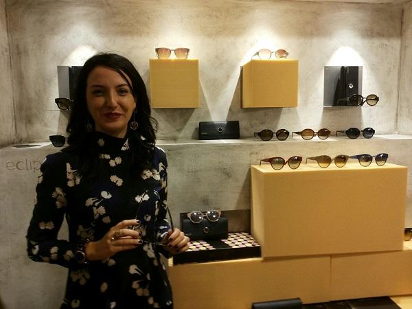 Anna Affede con Eclipse Eyewear
