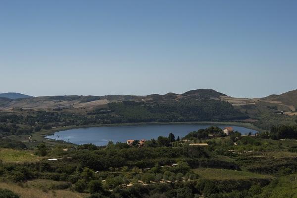 lago Pergusa, Sicilia