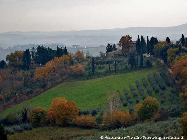 San Gimignano colline