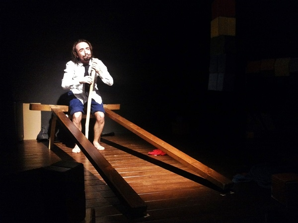 Giuseppe Mortelliti, intervista a teatro