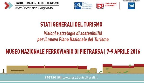 Pietrarsa - Museo Ferroviario Stati Generali del Turismo locandina