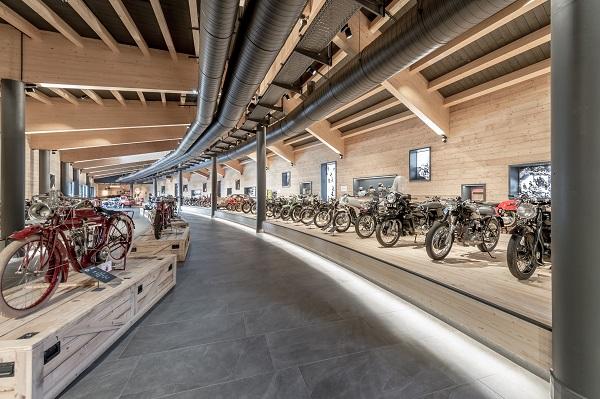 Museo Moto d'Epoca al Passo Rombo