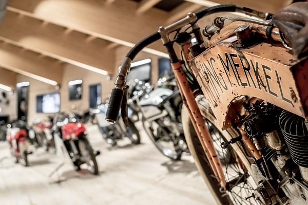 Museo Moto d'Epoca moto esposte
