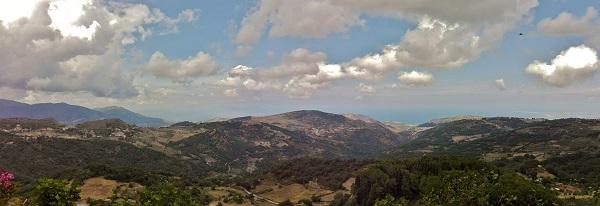 Panorama da Montalbano Elicona