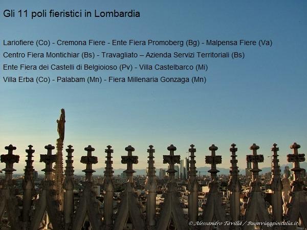 Lombardia gli 11 poli fieristici