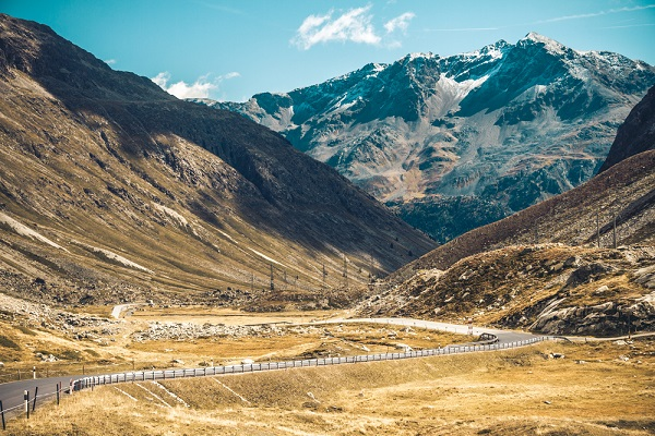 Itinerari in moto d'inverno