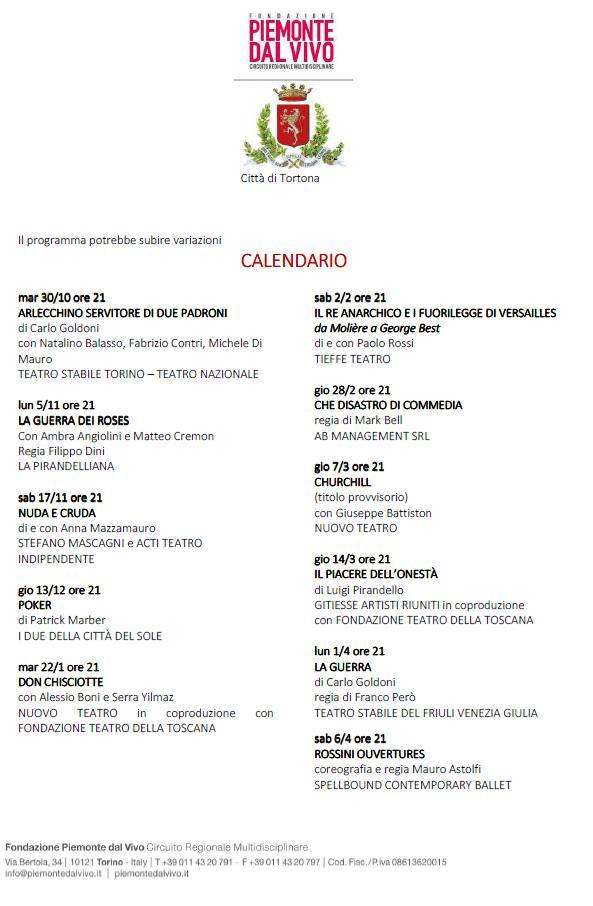Teatro Civico di Tortona