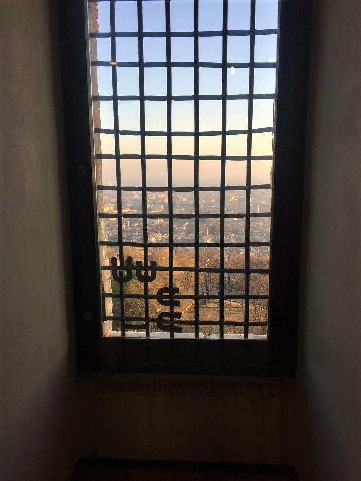Brescia dall'interno del Castello