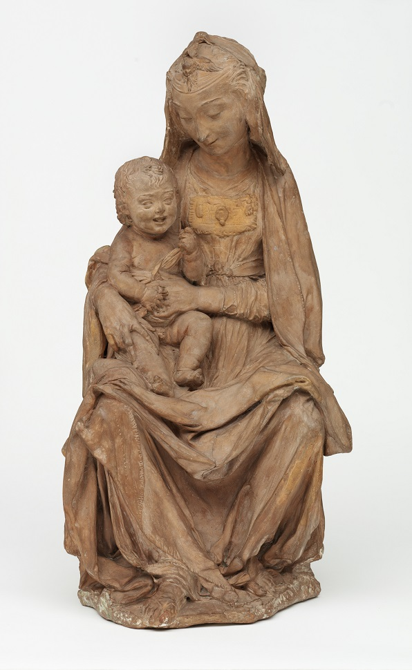 Leonardo Da Vinci - Scultura Madonna col bambino