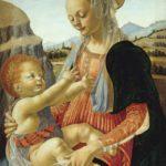 Leonardo Da Vinci - Verrocchio Madonna col bambino